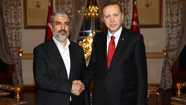 Turkish President meets Hamas leader