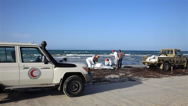 133 refugee bodies found on Libya's western coast