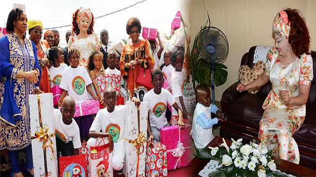 Chantal Biya Foundation provides for vulnerable children in the Littoral