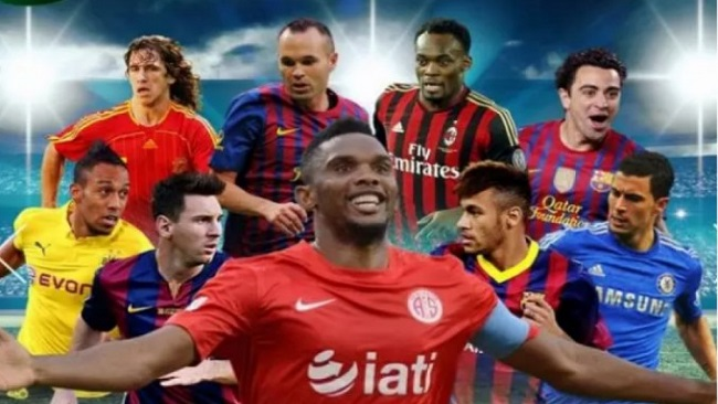 Samuel Eto'o: The whole world in his hands