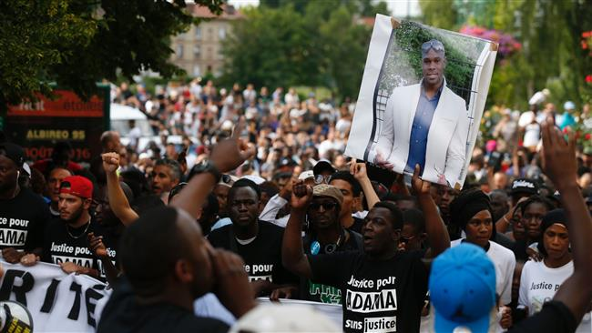 France deploys 100s of police officers as clashes continue over the death of a young African man