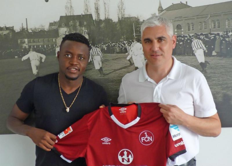 Cameroonian International Edgar Salli joins Nuremburg
