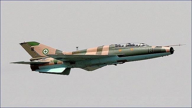 Nigerian warplanes strike Boko Haram positions, several senior terrorists killed