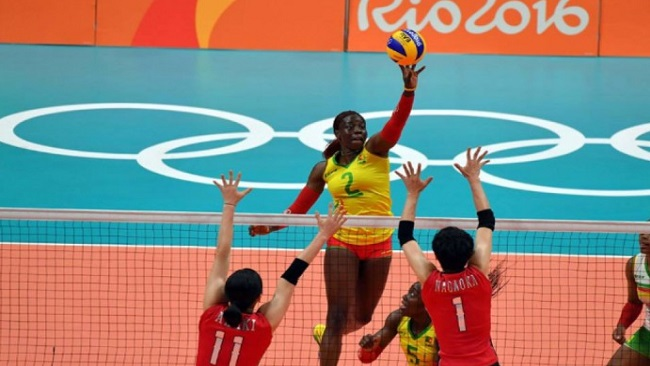 Rio 2016: Cameroon female Volleyball team losses second game against Japan