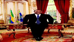 Gabon says President Ali Bongo's health has greatly improved!! Exact ailment not known