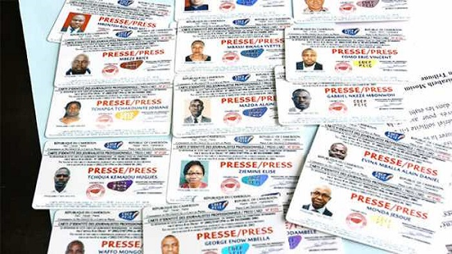 Cameroon government begins issuing press cards to journalists