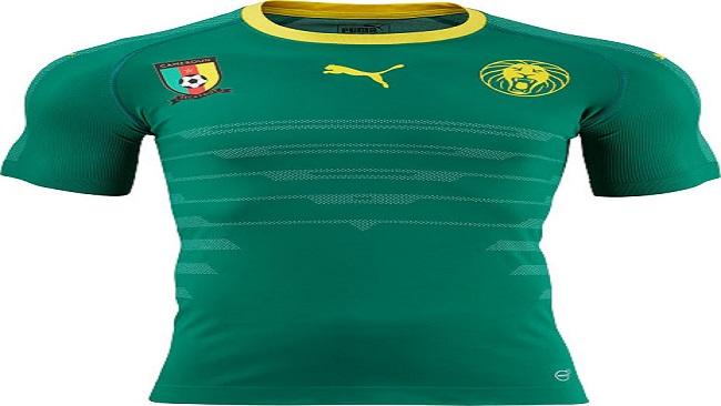 Puma reveals Cameroon 2016 Home kit