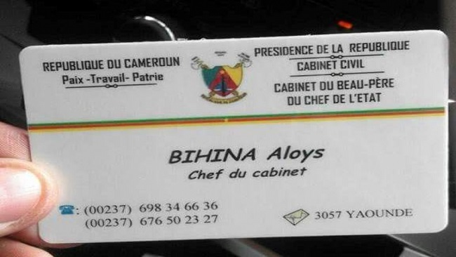 Cameroonian scammer claims President Biya has created a cabinet for his father-in-law
