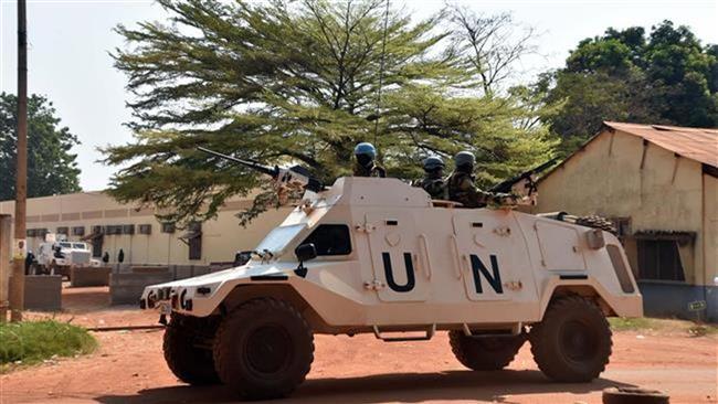 Anti-UN protest in the CAR capital of Bangui