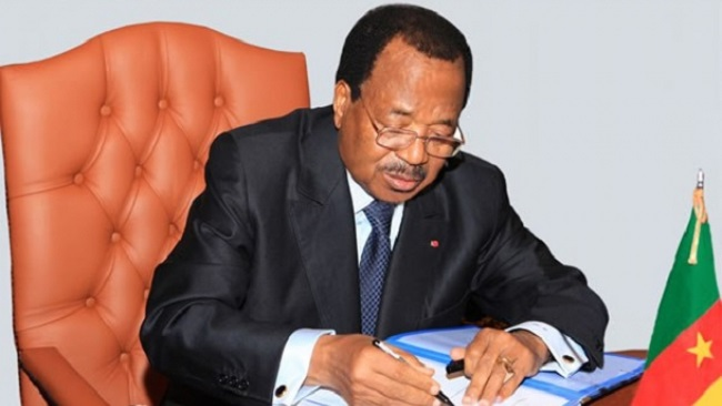 President Biya declares two days of national mourning for military vessel victims