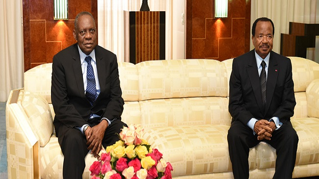 Another African dictator wins CAF President Issa Hayatou Peace Prize
