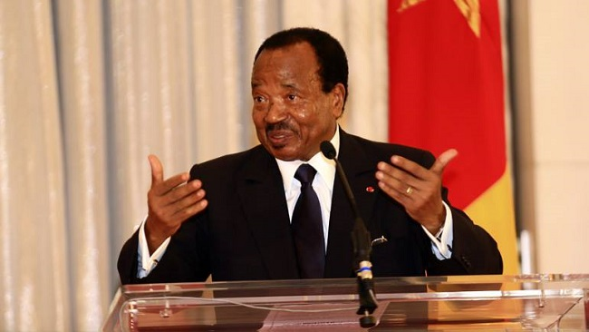 "Biya says CPDM government wouldn't be overthrown by ""WhatsApp"" and Face Book"