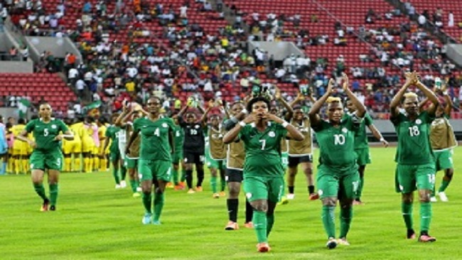 Women's AFCON 2016: Nigeria to clash with La Republique
