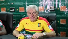 Confederation Cup: Hugo Broos seeks brighter beginning from Cameroon
