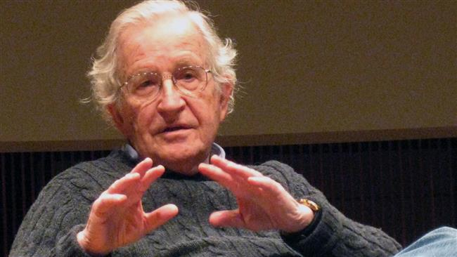 US philosopher  Noam Chomsky says the American Dream has collapsed