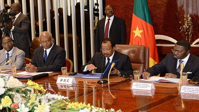 Biya takes full responsibility as talks break off between Yang Philemon and Anglophone teachers