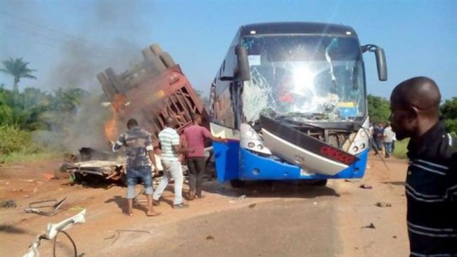Nigeria: Bus driver plows vehicle into a Muslim procession killing a dozen