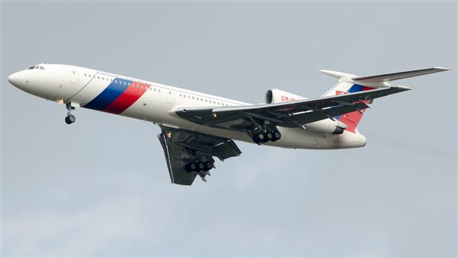 Russian military aircraft crashed leaving no survivors