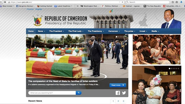 Biya makes a mockery of Anglophones in End of Year Speech