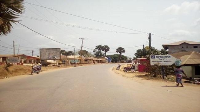 Ghost town rocks Southern Cameroons