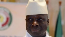African Union says it will cease to recognize Gambian President Yahya Jammeh