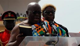 Ghana: New president sworn in after defeating incumbent