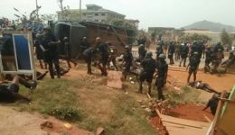 56 Cameroon soldiers injured in an accident at Olembe