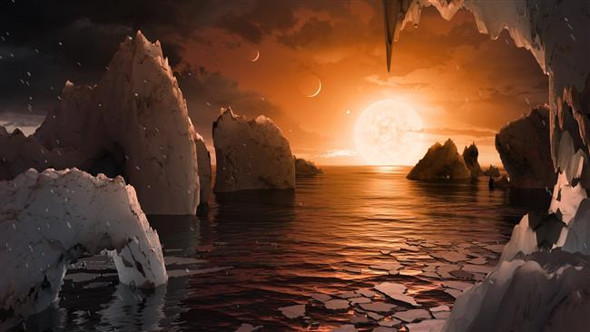 Scientists discover whole solar system potentially harboring life