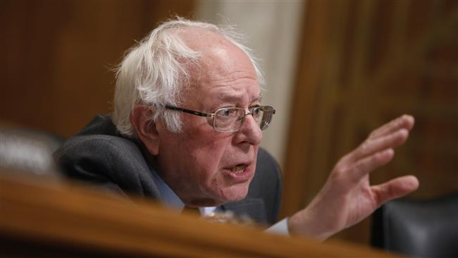 US: Senator Sanders vows to do his best to 'stop US attacking Iran'