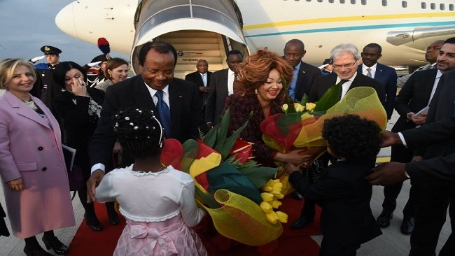 Francophone Community gives Biya a befitting welcome in Rome