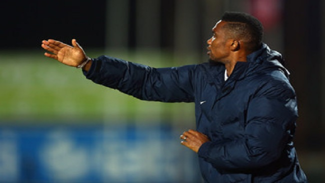 """I want to be the first African to manage a great European team"" Eto'o"