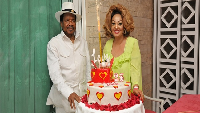 Yaounde: Biya and Chantal celebrates 23rd wedding anniversary