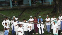 Medical doctors hold general strike against the Biya Francophone regime