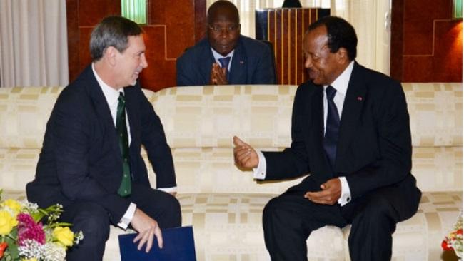 "US ambassador calls on Biya to be ""cool-headed"" over Southern Cameroons"