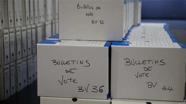 People voting in French presidential runoff