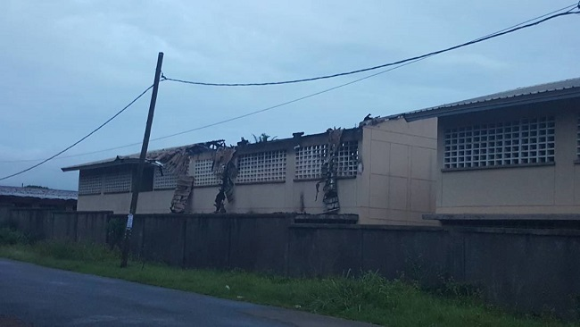 GCE Crisis: Militants burn school building in Bamenda