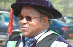 Accra: Prof. Ako Edward Oben elected First Vice President of the Association of African Universities