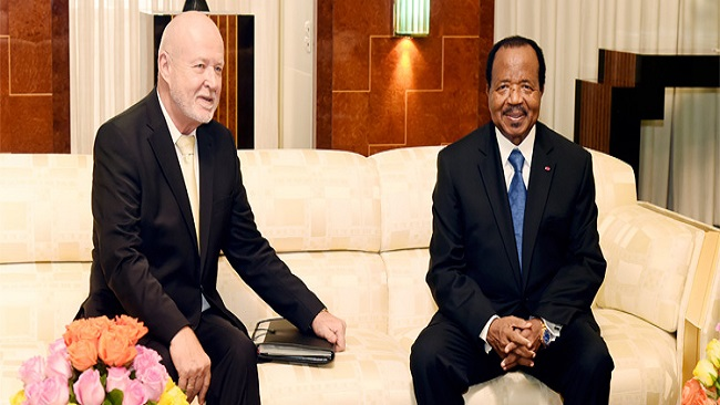 Russian Ambassador meets Biya, says Moscow supports Cameroon's fight against piracy
