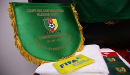 Cameroon-Chile is on and it is a cracker