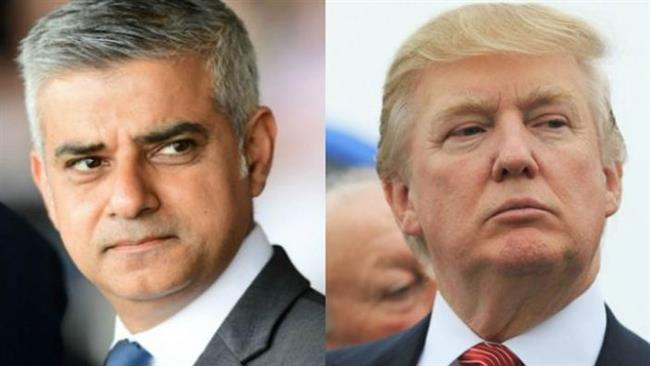 Trump renews Twitter attacks on London's mayor