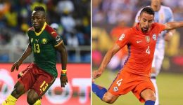Russia praised for Cameroon welcome at Confederations Cup