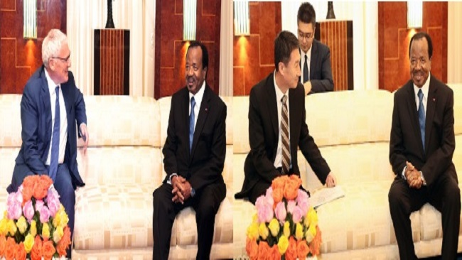 French Cameroun: Biya meets with investors from Europe and Asia