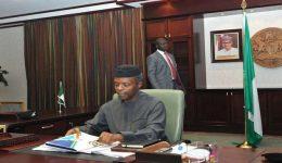Biafra Uprising: Nigerian acting president meets with regional leaders