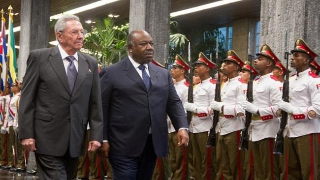 Cuba: Ali Bongo meets  Raúl Castro Ruz