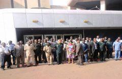 Top military officials at CRTV