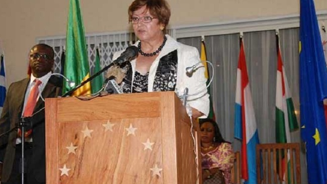 The first woman to leave hell: Ambassador Francoise Collet bids farewell to La Republique