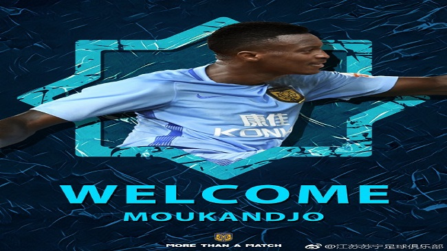 Captain Moukandjo makes switch to China