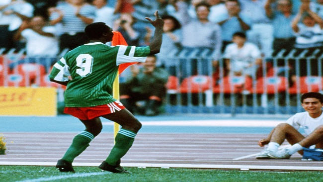 Roger Milla tackling plastic flooding menace in Cameroon