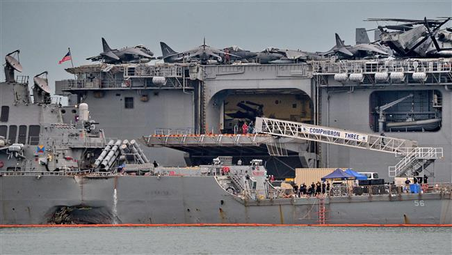 Bodies of all 10 missing sailors on USS John McCain recovered