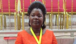 La Republique: Wife of famous Minister Akame Mfoumou wins Red Cross leadership race